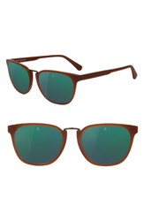 Vuarnet Cable Car 54Mm Sunglasses Cognac Grey Green Flash Cognac Grey Green Flash