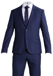 Bertoni Madsen Jepsen Suit Dress Blue Dark Blue