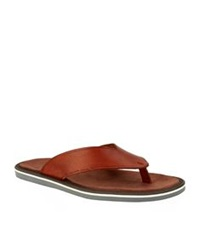 Kurt Geiger Konan Leather Sandal Tan