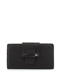 Kooba Jonnie Leather Tab Wallet Black