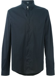 Versus Logo Button Shirt Black