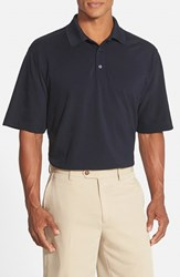 Men's Cutter And Buck 'Championship' Classic Fit Drytec Golf Polo Navy Blue