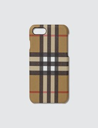 Burberry Vintage Check Iphone 8 Case Black