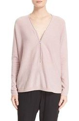 The Kooples Women's Front Zip Cashmere Sweater
