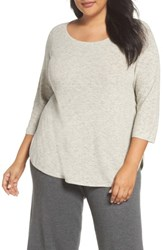 Eileen Fisher Plus Size Women's Organic Cotton Sweater Natural