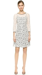 Nina Ricci Lace Dress Natural Black