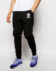 Franklin And Marshall Cotton Poplin Track Pants Black