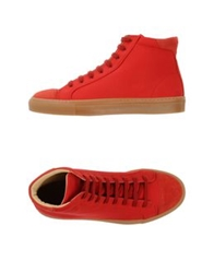 Carven High Tops And Trainers Red