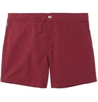 Brunello Cucinelli Mid Length Swim Shorts Red