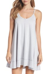 Naked Swing Chemise Microchip Gray Stripe