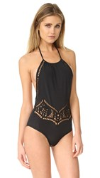 Beach Riot Arcadia One Piece Black