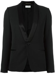 Saint Laurent Iconic Smoking Jacket Black