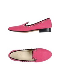 Space Style Concept Moccasins Fuchsia