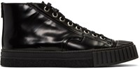 Adieu Black Type W.O. High Top Sneakers