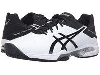 Asics Gel Solution Speed 3 Clay White Black Silver Men's Tennis Shoes