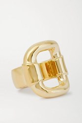 Jennifer Fisher Belt Gold Plated Ring 6