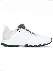 Adidas By Stella Mccartney Textured Detailing Sneakers White