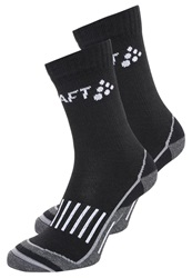 Craft Warm Training 2 Pack Sports Socks Black