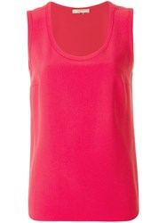 Mantu Plain Tank Top Pink And Purple