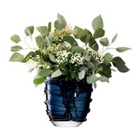 Lsa International Yarn Vase Sapphire Blue