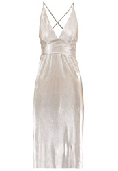 Wal G G. Cocktail Dress Party Dress Champagne Gold
