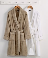 Hotel Collection Finest Modal Robe Luxury Turkish Cotton Created For Macy's Bedding Flax