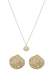 Anna Field Set Necklace Gold