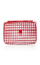 Anndra Neen Color Cage Steel Bag Red