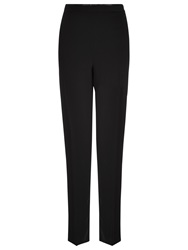 Jacques Vert Satin Waistband Trousers Black