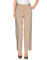 Mauro Grifoni Trousers Casual Trousers Women Beige