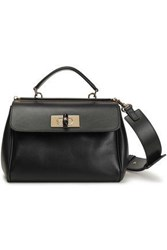 Giorgio Armani Woman Leather Tote Black