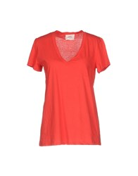 Jucca T Shirts Red