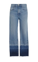 3X1 Shelter Straight Leg Jeans Blue