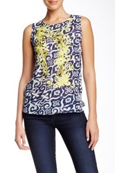 Desigual Embroidered Tank Multi
