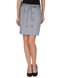 Supreme Being Skirts Knee Length Skirts Women Blue