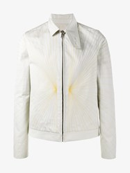 Rick Owens Embroidered Brother Jacket Nude Neutrals