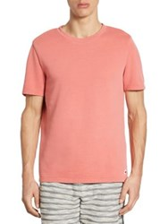 Madison Supply Regular Fit Short Sleeve Knit Tee Spiced Coral