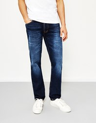 Nudie Jeans Co Dude Dan Dark Fuzz Blue