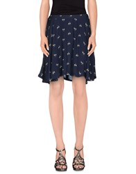 Denim And Supply Ralph Lauren Skirts Mini Skirts Women Dark Blue