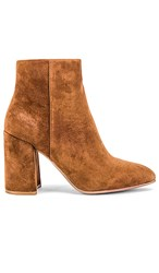 Steve Madden Therese Bootie In Brown. Brown Suede