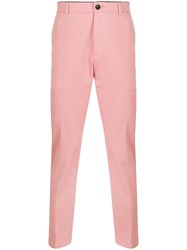 Department 5 Straight Leg Tailored Trousers Pink
