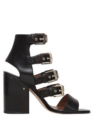 Laurence Dacade 90Mm Multi Buckle Leather Sandals