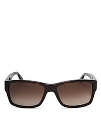 Boss Hugo Boss Rectangular Sunglasses Dark Havana