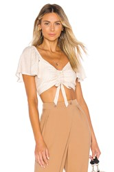 House Of Harlow X Revolve Brisa Top Ivory