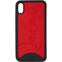 Christian Louboutin Black And Red Loubiphone Sneakers Iphone Xs Max Case