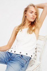 Free People Womens City Fever Grommet Tank