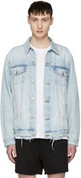 Adaptation Blue Denim Grind Jacket
