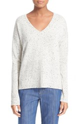 Women's Derek Lam 10 Crosby V Neck Cashmere Sweater