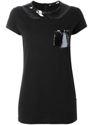 Love Moschino Chest Pocket T Shirt Black