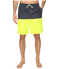 Nike Core Split 9 Volley Shorts Volt Men's Swimwear Black